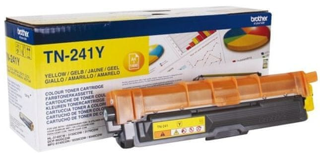 Brother TN-421 Y yellow toner